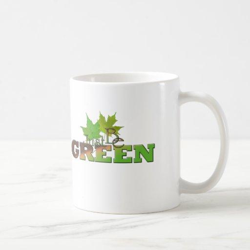 Verde 8 tazas de café