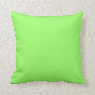 verde 99FF66 Almohada