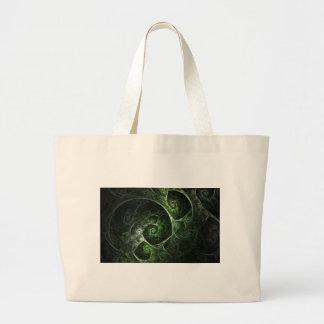 Verde abstracto de la piel de serpiente bolsas