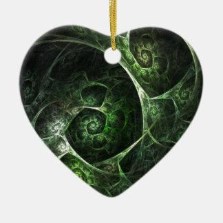 Verde abstracto de la piel de serpiente ornamente de reyes