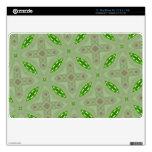 Verde abstracto del modelo MacBook calcomanía
