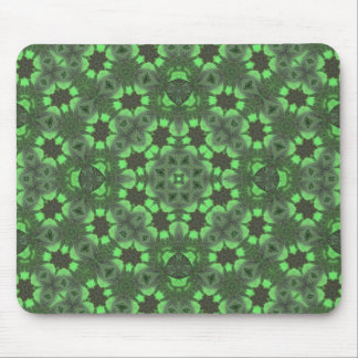 Verde abstracto del modelo tapetes de raton