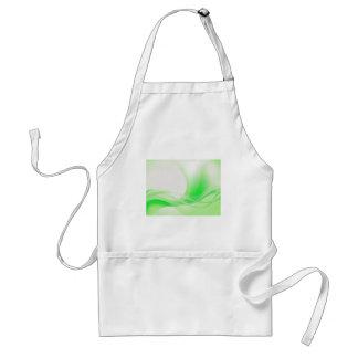 Verde abstracto delantales