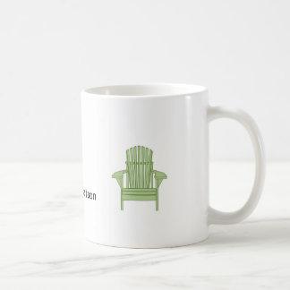 Verde Adirondack de la taza de JON