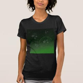 Verde afortunado camiseta