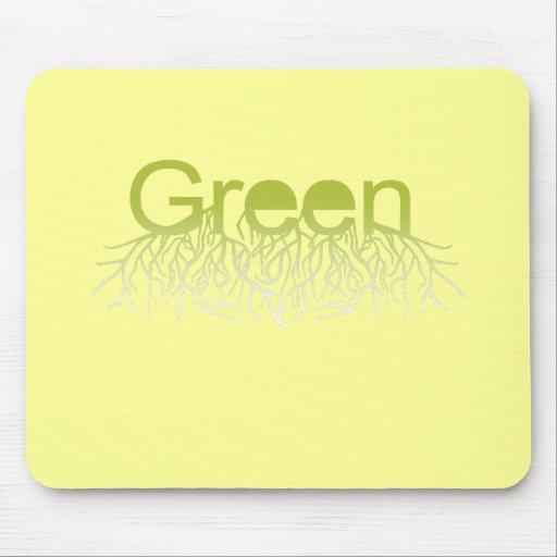 Verde Alfombrilla De Ratones