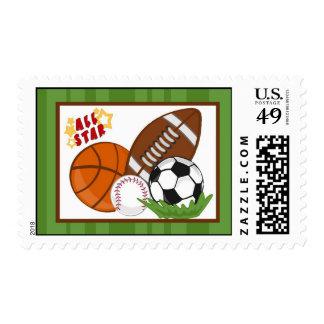 Verde All-star de 20 sellos