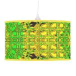 Verde/amarillo de cristal del mosaico del efecto