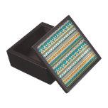 verde amarillo de la frontera mezclada caja de recuerdo de calidad