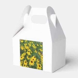 Verde amarillo observado negro de Susans Cajas Para Regalos De Fiestas