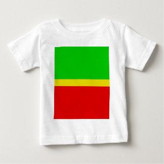 Verde, amarillo, y rojo camiseta