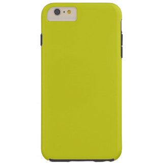 ~ VERDE ANDROIDE (del color sólido) Funda De iPhone 6 Plus Tough