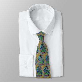 Verde artsy de la corbata de Eyechart