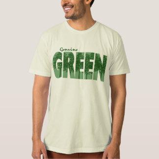 Verde auténtico playeras