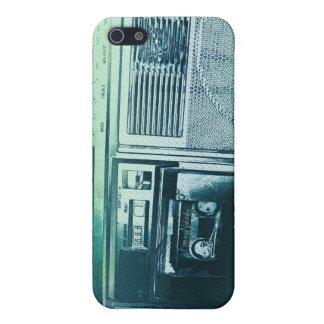 Verde azul de Boomboxer iPhone 5 Carcasas