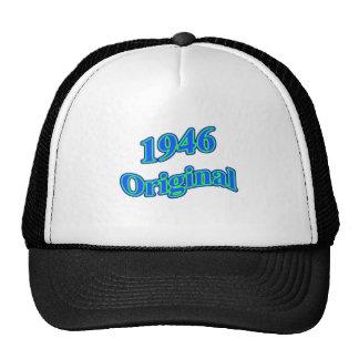 Verde azul original 1946 gorras de camionero