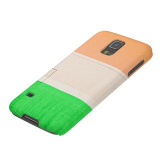 Verde blanco anaranjado fundas para galaxy s5