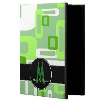 Verde/blanco estilizados de los rectángulos