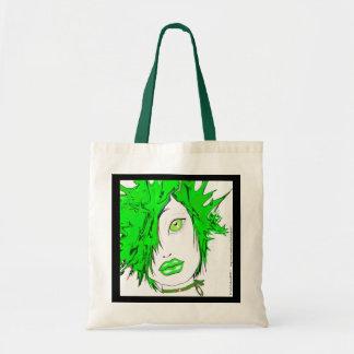 verde/bolso del punk-n' bolsa tela barata