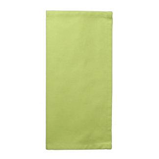 Verde bonito de Pascua en todas las opciones Servilleta De Papel