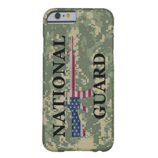 verde Camo del Guardia Nacional del caso del Funda Para iPhone 6 Barely There