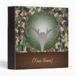 Verde Camo manchado de las astas de los ciervos de