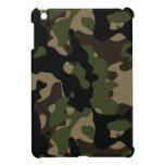Verde caqui y camuflaje de los militares de Brown iPad Mini Fundas