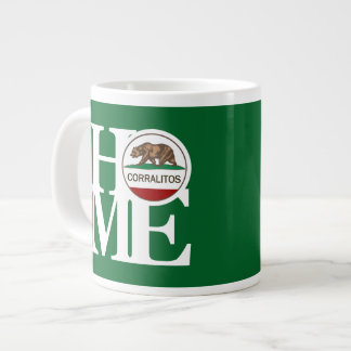Verde CASERO de la taza de Corralitos 20oz Taza Grande