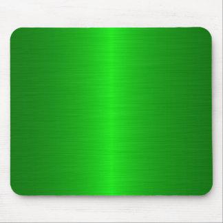 verde cepillado alfombrilla de raton