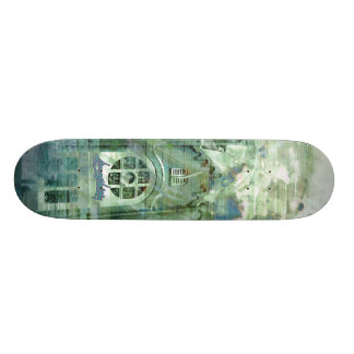 Verde Church Splatters Skateboard Deck