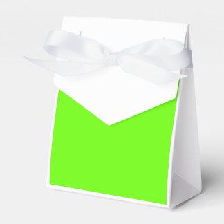 Verde claro caja para regalo de boda