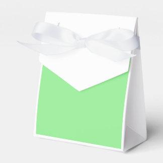 Verde claro caja para regalos