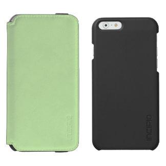 Verde claro funda billetera para iPhone 6 watson