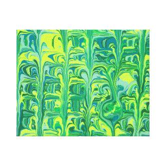 Verde claro impresión en lona