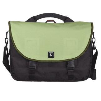 Verde claro sólido bolsa para ordenador