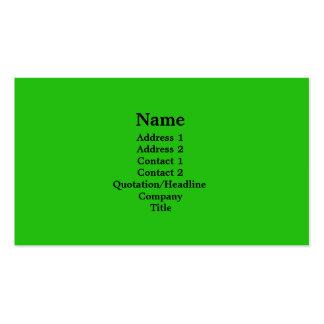 verde claro plantillas de tarjeta de negocio