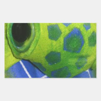 Verde colorido de la tortuga gruñona rectangular altavoz