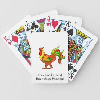 verde colorido graphic.png rojo de la cola del gal cartas de juego