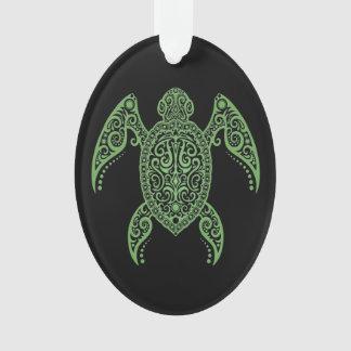 Verde complejo y tortuga del Mar Negro