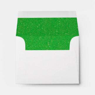 Verde con envidia ocultada sobre