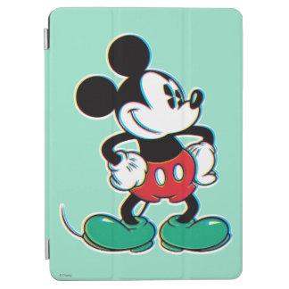 Verde confiado de Mickey Mouse Cubierta De iPad Air