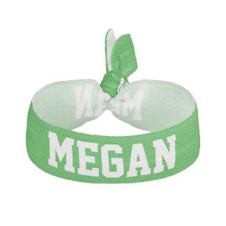 Verde conocido adaptable del diseño del alcohol de banda para el cabello