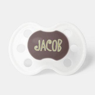 Verde conocido de Jacob y pacificador del bebé de  Chupetes Para Bebés