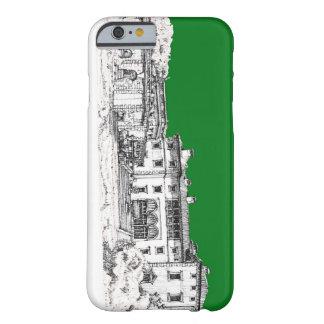 Verde constructivo del renacimiento funda de iPhone 6 barely there