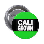 Verde crecido Cali 2 Pin Redondo 5 Cm