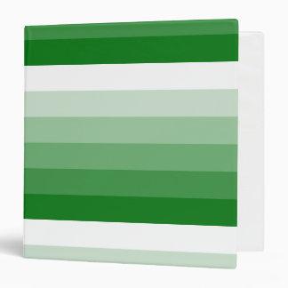 """Verde cuadrado de Kelly de la pendiente al blanco Carpeta 1 1/2"""""""