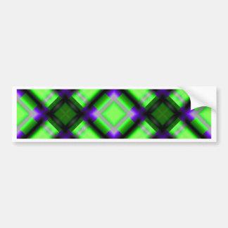 verde cuadrado del serie 1 del modelo pegatina para auto