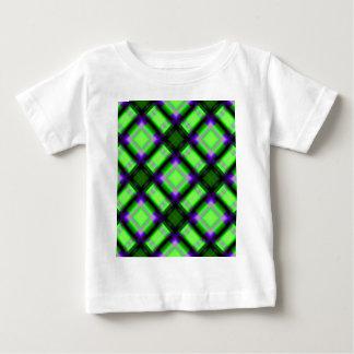 verde cuadrado del serie 1 del modelo playera para bebé