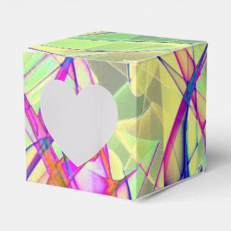Verde de ABBY del arte de la llama Cajas Para Regalos De Fiestas