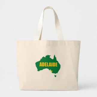 Verde de Adelaide y mapa del oro Bolsa Lienzo